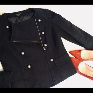 Talbots Moto Working Girl Jacket - Petite